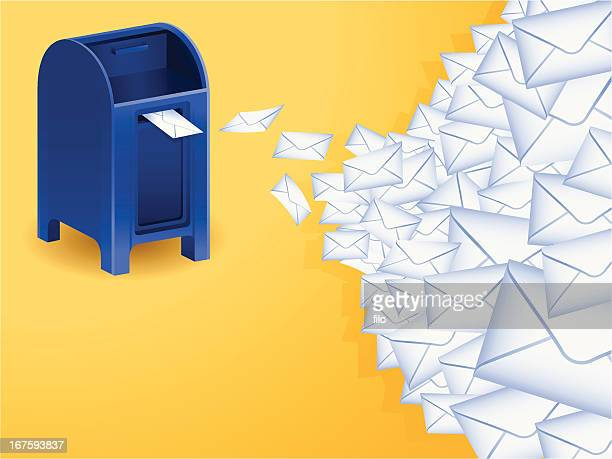 mail - post office stock illustrations, clip art, cartoons, & icons