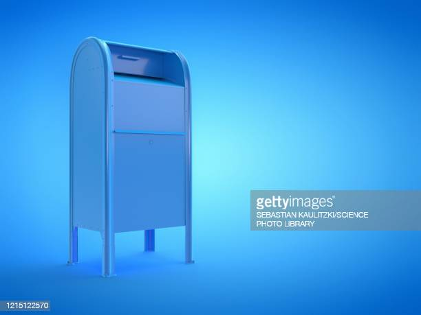 mailbox, illustration - writing stock illustrations
