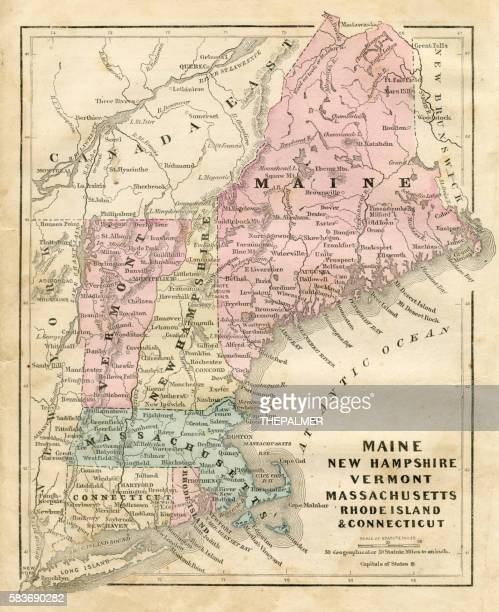 Maine New Hampshire and Connecticut 1856