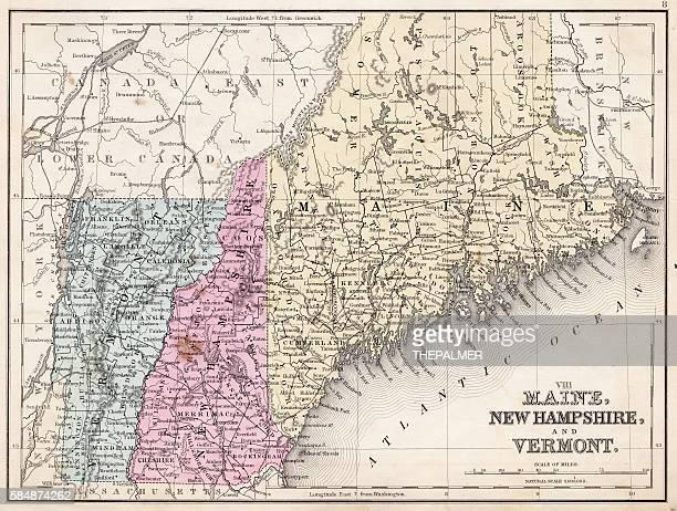 Maine New Hampshire and Vermont 1867