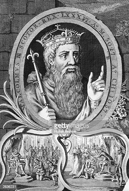 Malcolm III King of Scotland also known as Malcolm Canmore meaning great head or chief circa 1090 Malcolm was crowned King at Scone in 1057 having...