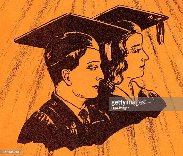 Male and Female Graduates