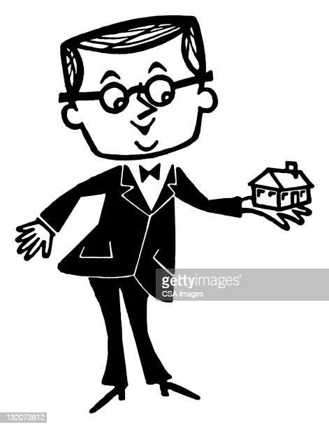 ilustraciones, imágenes clip art, dibujos animados e iconos de stock de hombre que agarra cámara en la mano - encuadre de cuerpo entero