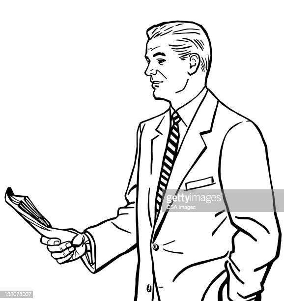Man Holding Papers