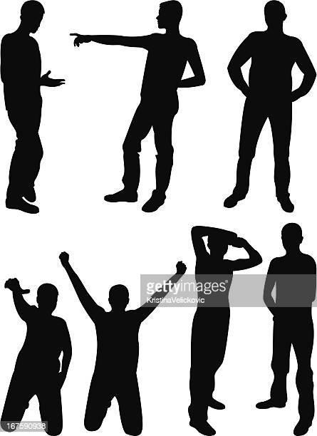 ilustraciones, imágenes clip art, dibujos animados e iconos de stock de hombre - baile moderno