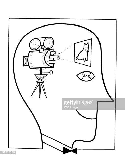 man - film crew stock illustrations