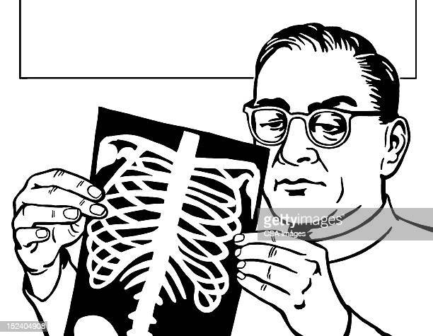 rib cage stock illustrations and cartoons