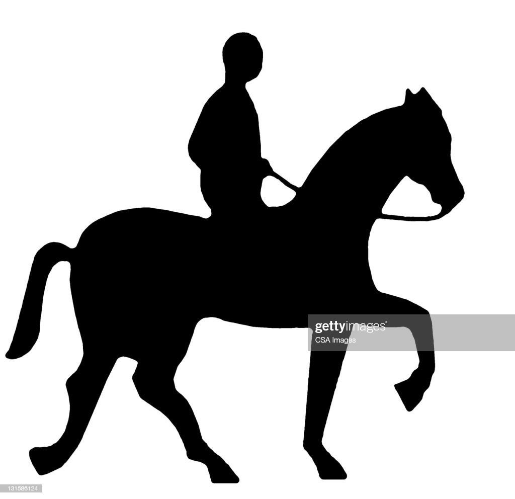 Man Riding Horse High Res Vector Graphic Getty Images