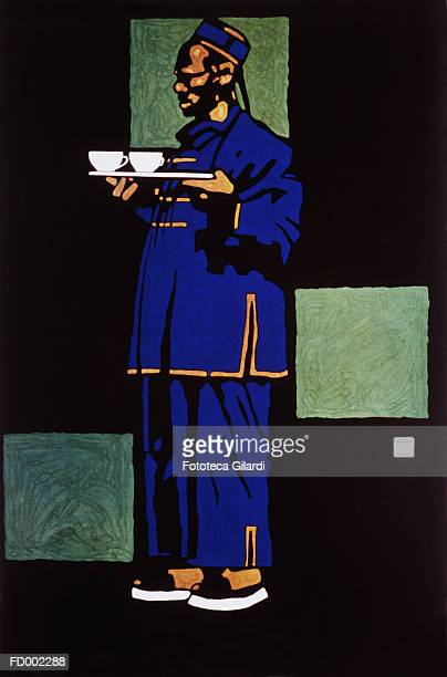 Man Serving Tea