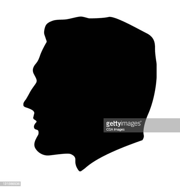 man silhouette - back lit stock illustrations