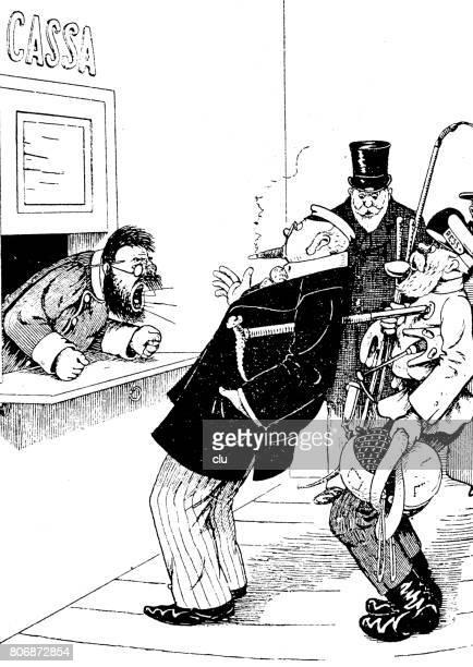 Cashier Cartoons: Cashier Stock Illustrations And Cartoons