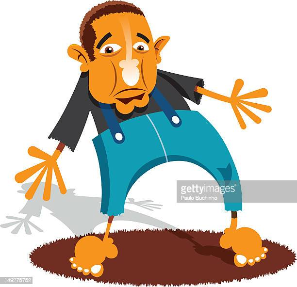 ilustrações de stock, clip art, desenhos animados e ícones de a man wearing suspenders - buchinho