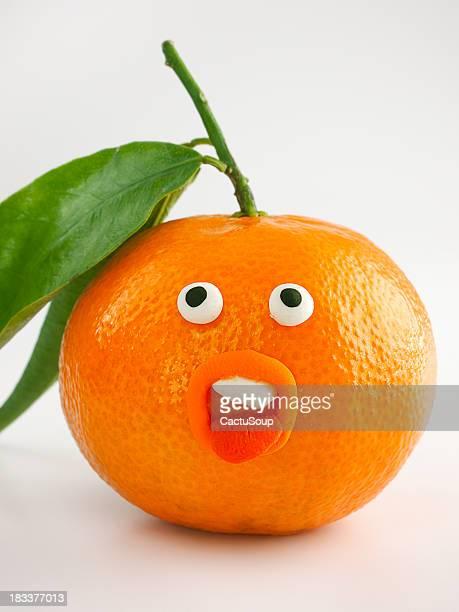 Mandarin portrait