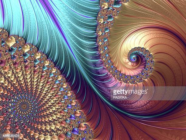 mandelbrot fractal - fractal stock illustrations