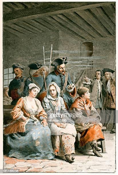 manon lescaut - 18th century france - ignoring stock illustrations, clip art, cartoons, & icons