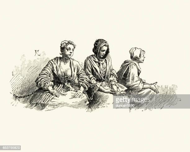 Manon Lescaut - 18th Century women accused of prostitution