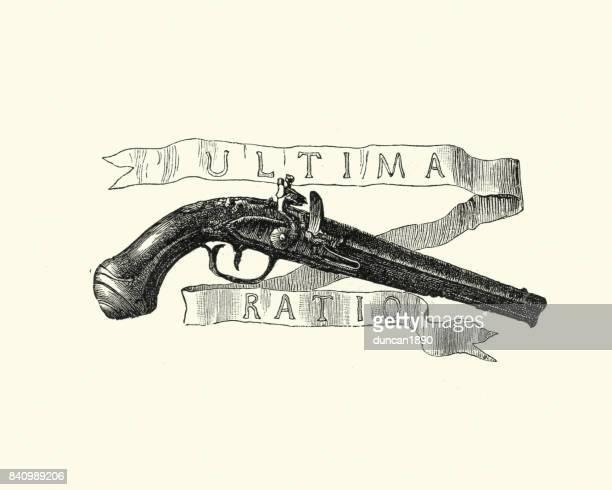 Manon Lescaut - Flintlock pistol