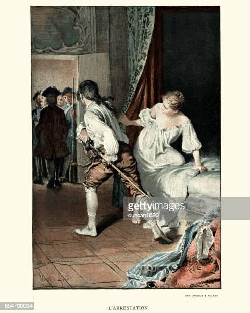 Manon Lescaut - soldats arrêtant un siècle spy18th