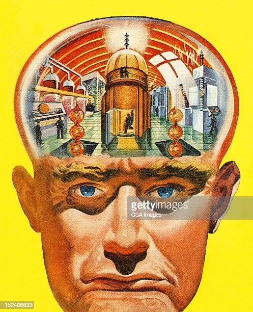 Man's Brain Powerplant