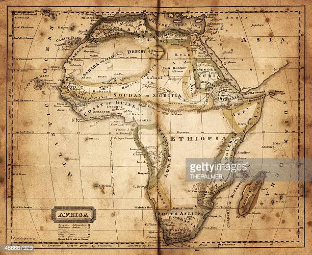 map of africa 1820