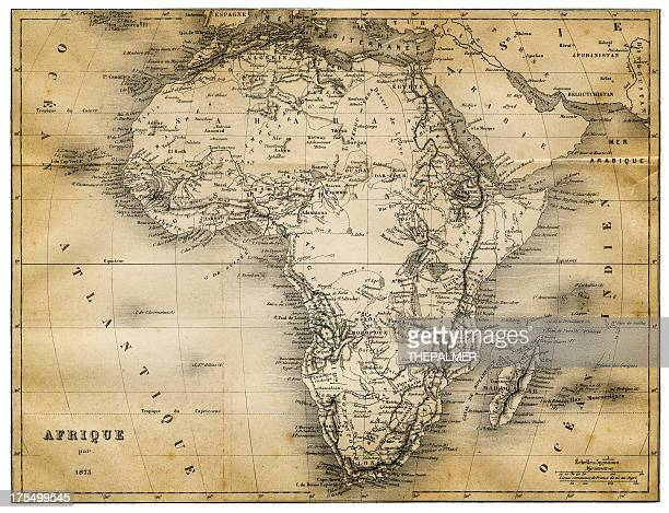 map of africa 1873