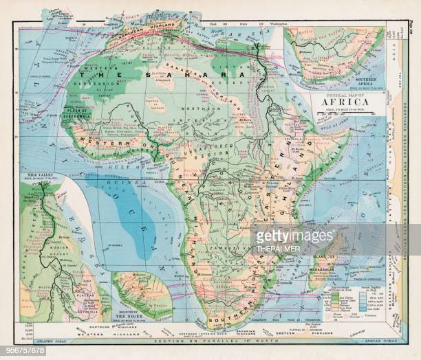 Sahara Desert Map Of Africa.Sahara Desert Stock Illustrations And Cartoons
