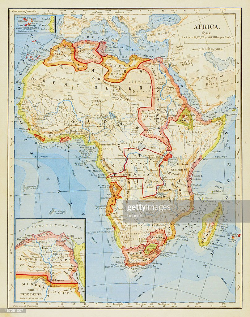 1883 Map Of Africa High-Res Vector Graphic - Getty Images  Map Of Morocco on map of africa, map of the us, map of greece, map of senegal, map of the mediterranean, map of tangier, map of atlantic ocean, map of gibraltar, map of fez, map of world, map of romania, map of marrakech, map of nicaragua, map of austria, map of mali, map of algeria, map of honduras, map of saint martin, map of western sahara, map of mongolia,