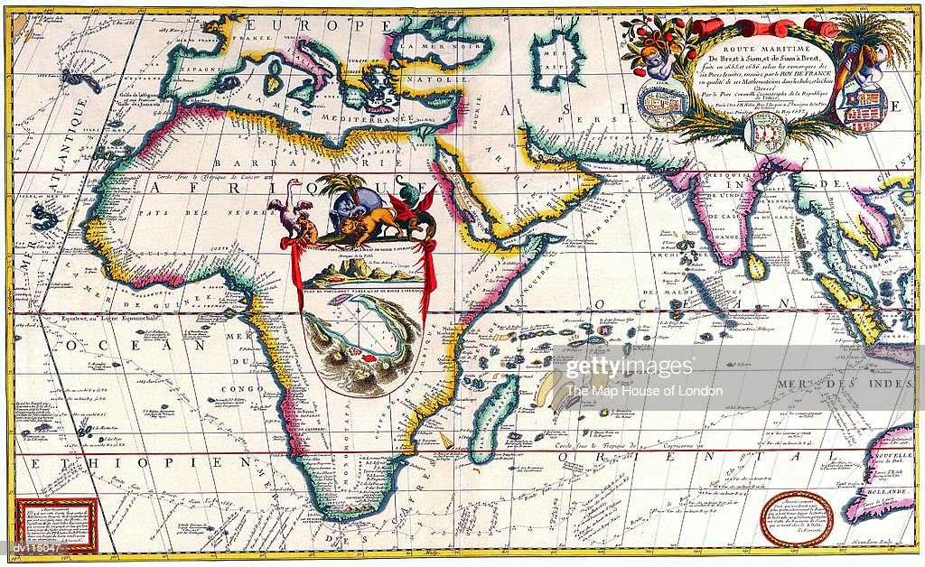 Map Of Africa Stock-Illustration - Getty Images
