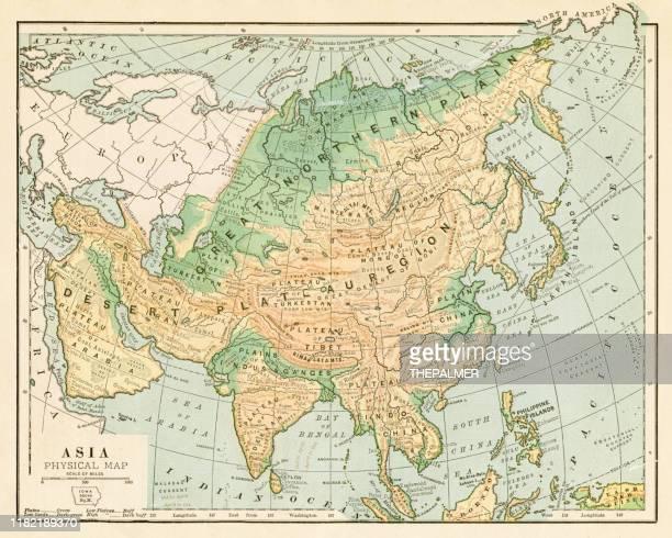 地図 アジア