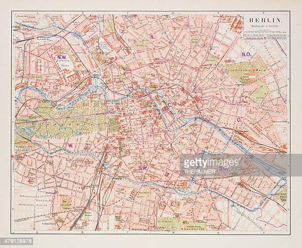 Map of Berlin 1895