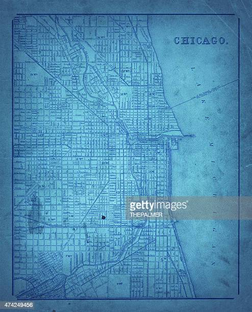 map of chicago 1870