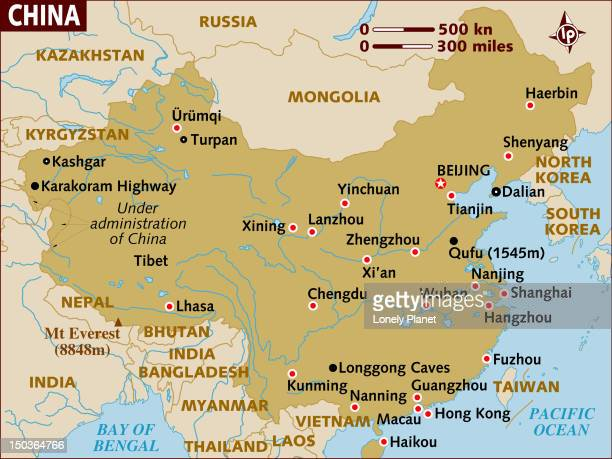 map of china. - wuhan stock illustrations