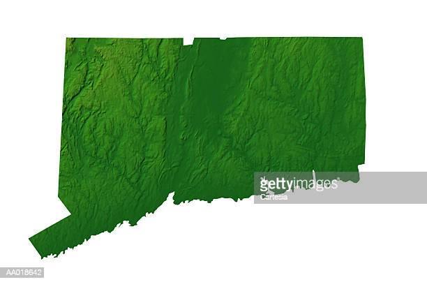 map of connecticut - コネチカット州点のイラスト素材/クリップアート素材/マンガ素材/アイコン素材