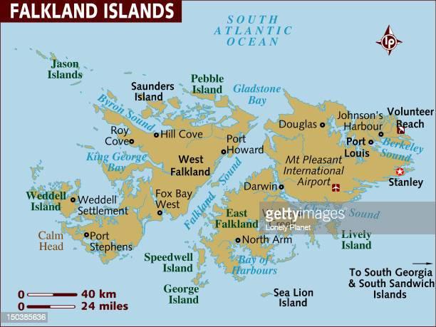 ilustraciones, imágenes clip art, dibujos animados e iconos de stock de map of falkland islands. - islas malvinas
