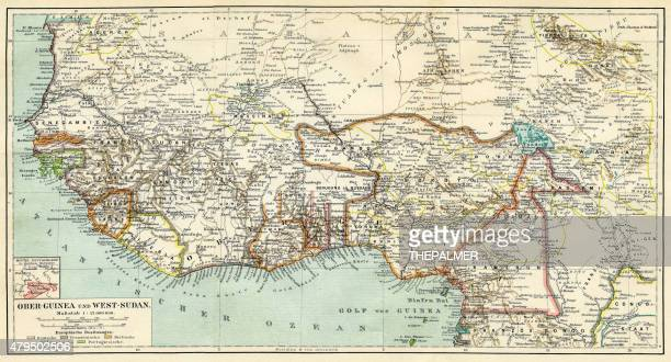 Map of Guinea 1895