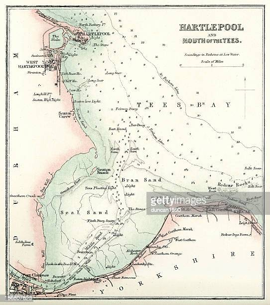 Map of Hartlepool