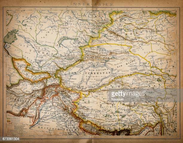Map of inner Asia
