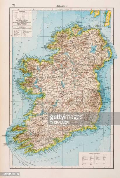 Map of Ireland 1896