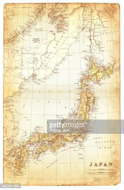 1892 年日本地図