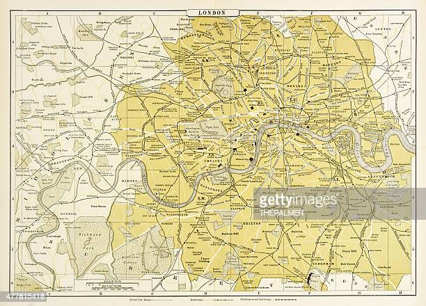 Map of London 1894