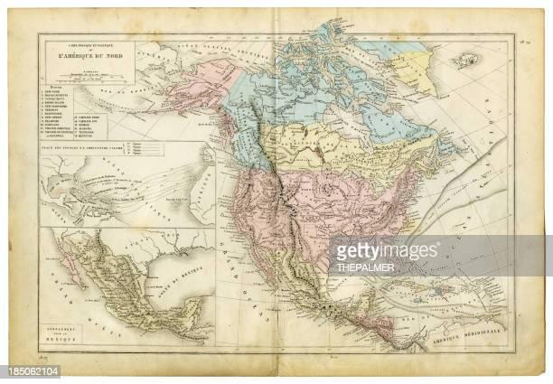 ilustraciones, imágenes clip art, dibujos animados e iconos de stock de 1.882 mapa de américa del norte - cristobal colon