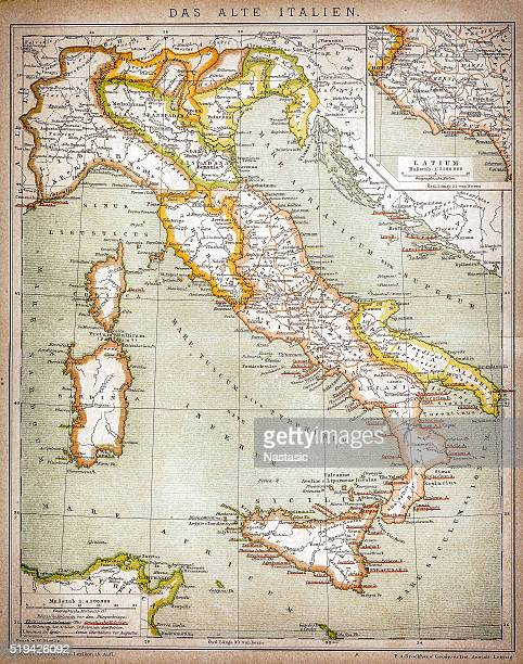 map of old italy - tuscany stock illustrations, clip art, cartoons, & icons