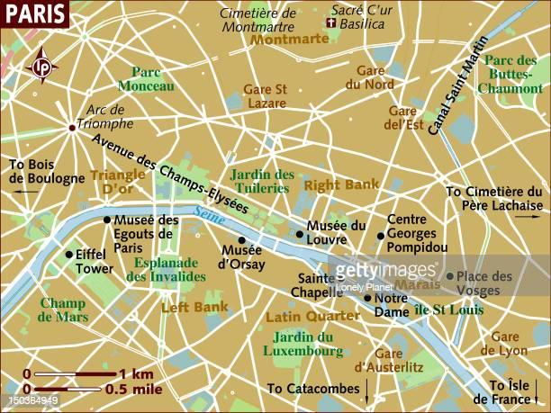 map of paris. - lorraine stock illustrations, clip art, cartoons, & icons