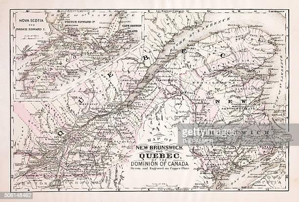 Map of Quebec 1894