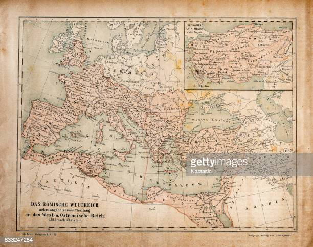Map of Roman Empire in the Apostolic Age