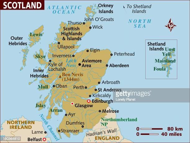 map of scotland. - northeastern england stock illustrations, clip art, cartoons, & icons