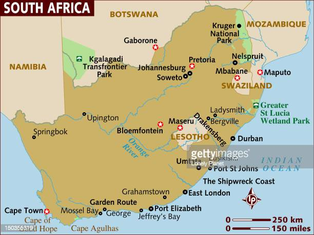 map of south africa. - eswatini stock illustrations, clip art, cartoons, & icons