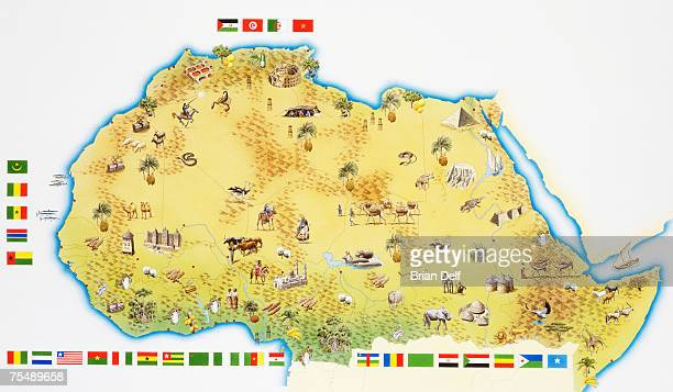 map of south africa - ghana stock illustrations, clip art, cartoons, & icons