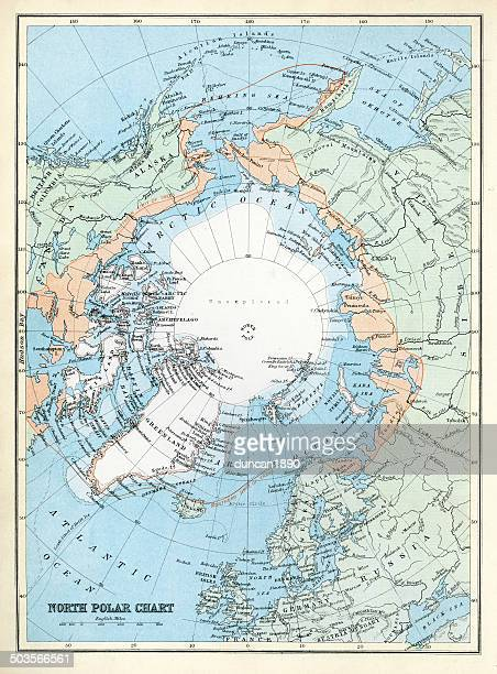 Map of the North Polar Region