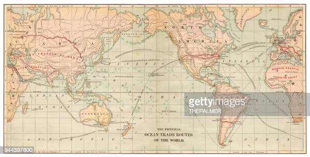 Map of the World 1881